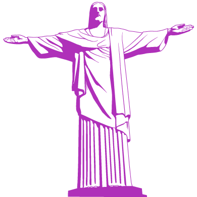 wall sticker Christ the Redeemer
