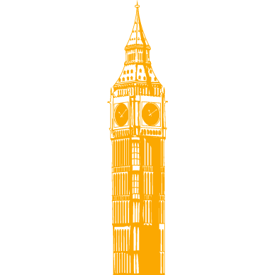 wall sticker big ben