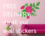 free-delivery-on-wall-stickers